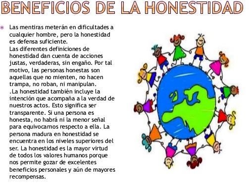 Beneficios de la honestidad
