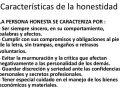 Características de la honestidad
